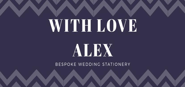 With Love Alex Stationery